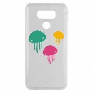 Etui na LG G6 Multi-colored jellyfishes