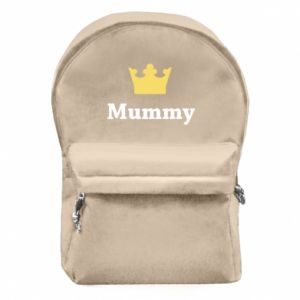 Backpack with front pocket Mummy