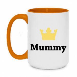 Two-toned mug 450ml Mummy