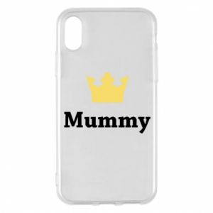 Phone case for iPhone X/Xs Mummy