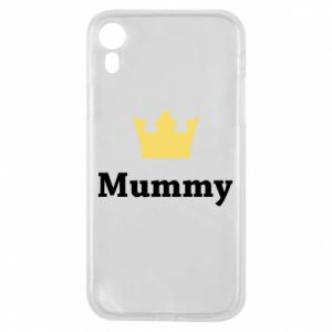 Phone case for iPhone XR Mummy