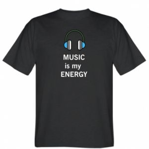 T-shirt Music is my energy