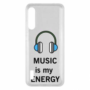 Etui na Xiaomi Mi A3 Music is my energy