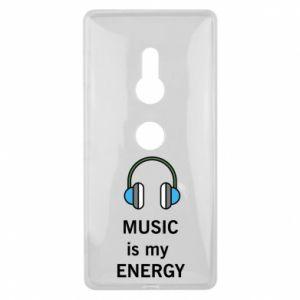 Etui na Sony Xperia XZ2 Music is my energy