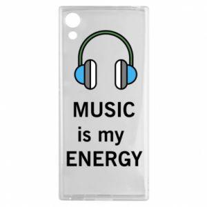 Etui na Sony Xperia XA1 Music is my energy