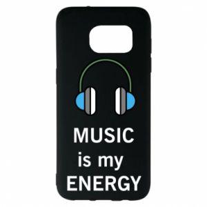 Etui na Samsung S7 EDGE Music is my energy