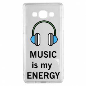Etui na Samsung A5 2015 Music is my energy