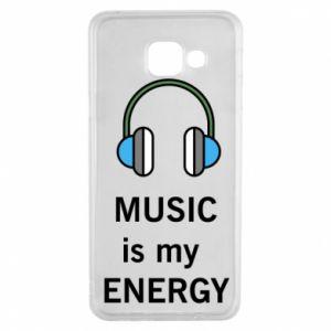 Etui na Samsung A3 2016 Music is my energy