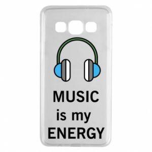 Etui na Samsung A3 2015 Music is my energy
