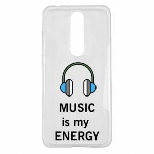 Etui na Nokia 5.1 Plus Music is my energy
