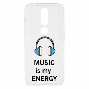 Etui na Nokia 4.2 Music is my energy