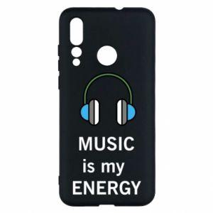 Etui na Huawei Nova 4 Music is my energy