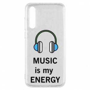 Etui na Huawei P20 Pro Music is my energy