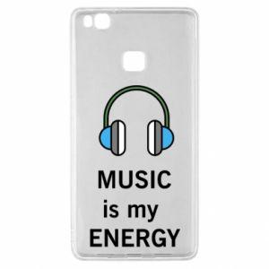 Etui na Huawei P9 Lite Music is my energy