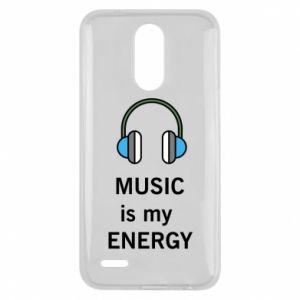 Etui na Lg K10 2017 Music is my energy