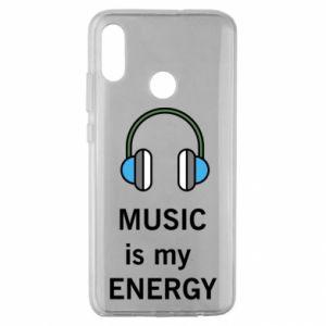 Etui na Huawei Honor 10 Lite Music is my energy