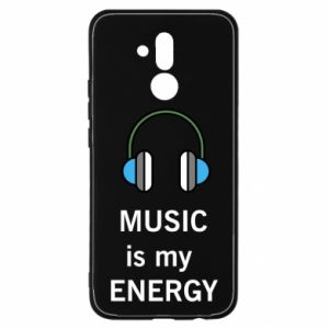 Etui na Huawei Mate 20 Lite Music is my energy