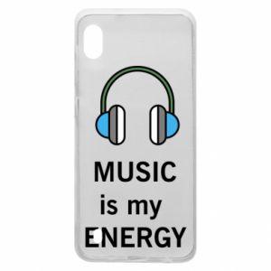 Etui na Samsung A10 Music is my energy