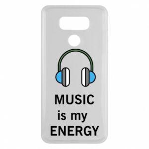 Etui na LG G6 Music is my energy