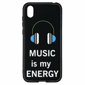 Etui na Huawei Y5 2019 Music is my energy