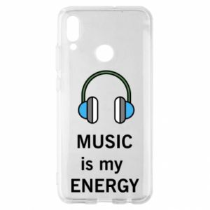 Etui na Huawei P Smart 2019 Music is my energy