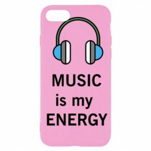 Etui na iPhone SE 2020 Music is my energy