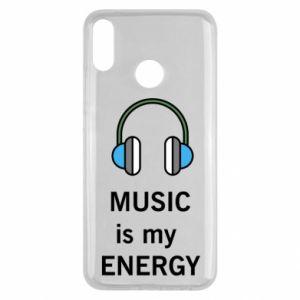 Etui na Huawei Y9 2019 Music is my energy