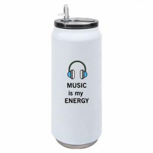 Puszka termiczna Music is my energy