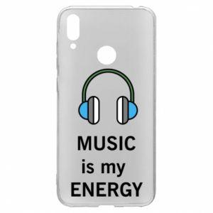 Etui na Huawei Y7 2019 Music is my energy