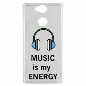 Etui na Sony Xperia XA2 Music is my energy