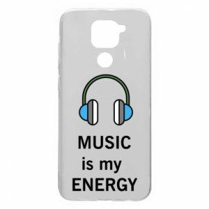 Xiaomi Redmi Note 9 / Redmi 10X case % print% Music is my energy
