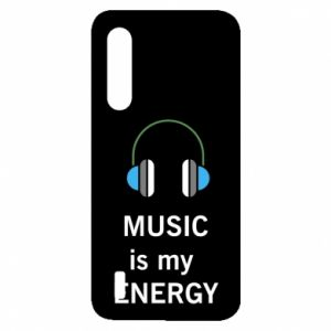 Etui na Xiaomi Mi9 Lite Music is my energy