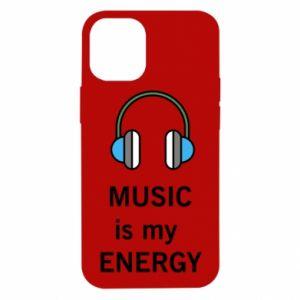 Etui na iPhone 12 Mini Music is my energy