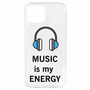 Etui na iPhone 12/12 Pro Music is my energy