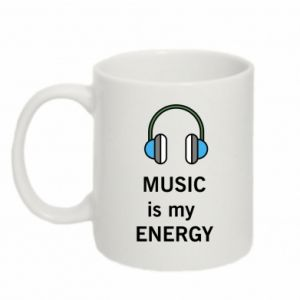 Kubek 330ml Music is my energy