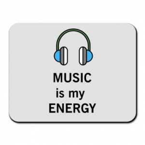 Mouse pad Music is my energy