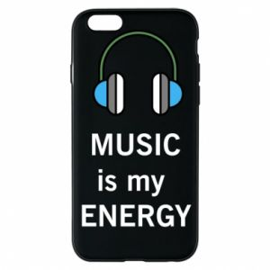 Phone case for iPhone 6/6S Music is my energy