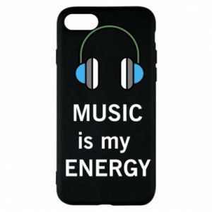 Phone case for iPhone 7 Music is my energy