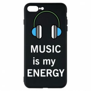 Phone case for iPhone 7 Plus Music is my energy
