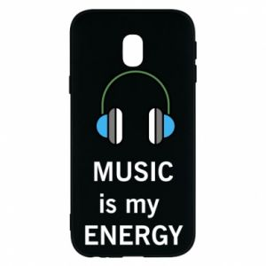 Phone case for Samsung J3 2017 Music is my energy