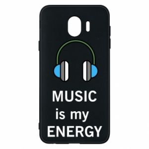 Phone case for Samsung J4 Music is my energy