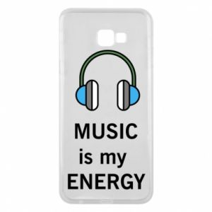 Phone case for Samsung J4 Plus 2018 Music is my energy