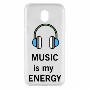 Phone case for Samsung J5 2017 Music is my energy