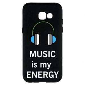 Phone case for Samsung A5 2017 Music is my energy