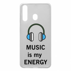 Phone case for Samsung A60 Music is my energy
