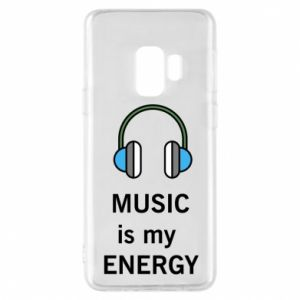 Phone case for Samsung S9 Music is my energy