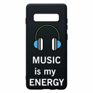 Phone case for Samsung S10+ Music is my energy