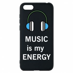 Phone case for Huawei Y5 2018 Music is my energy