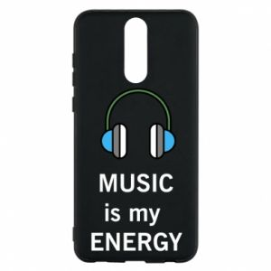 Phone case for Huawei Mate 10 Lite Music is my energy