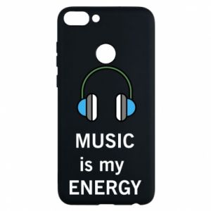 Phone case for Huawei P Smart Music is my energy